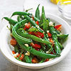 Green Beans with Basil and Mint
