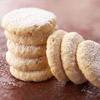 Greek Almond Shortbread Rounds
