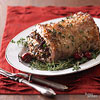 Pork with Cherry and Wild Rice Stuffing