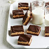 Honey-Roasted Peanut Butter Bars with Chocolate Ganache