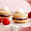 Mini Raspberry and White Chocolate Whoopie Pies