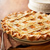 Lattice-Top Spiced Pumpkin  Pie