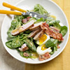 Bacon, Egg, Spinach and Tuna Salad