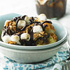 Campfire S'Mores Bread Pudding