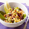 Quinoa Toss with Chickpeas and Herbs