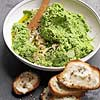 Smashed Peas with Ricotta Toasts