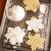 White-Chocolate Snowflakes