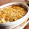 Cheesy Garlic Potato Gratin