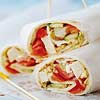 Chicken & Hummus Wraps