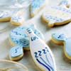 Painted Sour-Cream Sugar Cookies