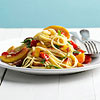 Peach and Tomato Pasta