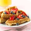 Multi-Grain Orange-Kissed Waffles