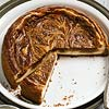 Caramel-Peanut Butter Swirl Cheesecake