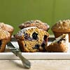Ginger Blueberry Muffins