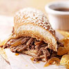 Simple French Dip Sandwiches