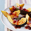 Acorn Squash with Orange-Cranberry Sauce