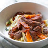 Italian Pot Roast with Penne