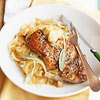 Sage-Scented Pork Chops