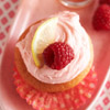 Spiked Raspberry-Lemonade Cupcakes