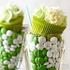Shamrock Milkshake Cupcakes