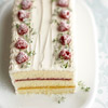Lemon-Berry Ribbon Torte