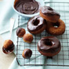 Chocolate-Banana Doughnuts