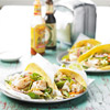 Fish Tacos with Cabbage and Chile Pepper Slaw