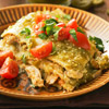 Chicken and Tortillas with Tomatillo Sauce