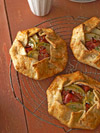 Apple, Ham, and Smoked Gouda Galettes
