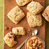 Peppered Pear Scones with Pear Conserve