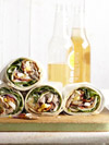 Spinach Salad Wraps