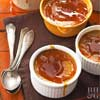 Maple-Pumpkin Creme Brulee