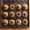 Chocolate, Hazelnut, and Caramel Thumbprint Cookies