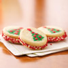 Christmas Tree Sandwich Cookie