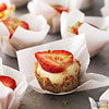 Strawberry Margarita Cheesecake Minis