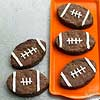 Fudgy Football Brownies