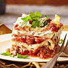 Bolognese Lasagna with Porcini-Ricotta Filling