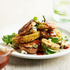 Pan-Seared Pork & Fried Green Tomato Salad