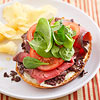 Beef and Tapenade Open-Face Sandwiches
