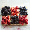 Berry Patchwork Tart