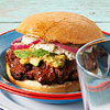 Chorizo-Chile Burger