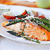 Basil-Buttered Salmon