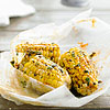Elote Asado (Grilled Corn Cob Bites with Chile and Lime)