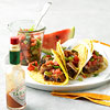 Pork Tacos with Spicy Watermelon Salsa