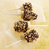 Dark Chocolate Banana Nut Pops