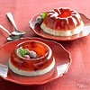 Layered Cranberry-Quince Mold