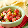 Watermelon, Mango, and Jicama Salsa