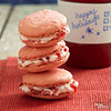 Filled Cherry Macaroons