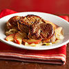 Pork  Tenderloin with Apples and Onions