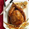 Ginger- and Garlic-Rubbed Turkey